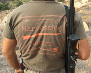 Olive and Orange Logo Shirt